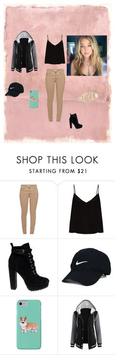 """Sem título #36"" by rayanedrew on Polyvore featuring Rothko, Barbour, Raey, Daya, Nike Golf, Corgi e Chico's"