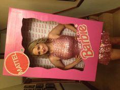 Barbie fancy dress. In the box. Fancy dress idea