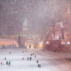 Neige en Russie <3 ****