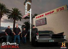 Los muchachos al frente de su famoso local de empeño en Las Vegas. El Precio de la Historia, todos los Domingos a las 9PM MEX - COL / 9.30PM VEN / 10PM CHI / 11PM ARG
