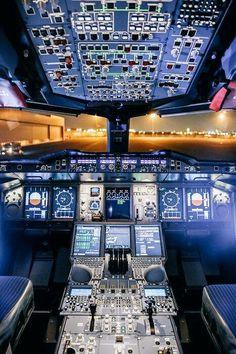 Lufthansa Technik — Dear A 380 flight deck Commercial Plane, Commercial Aircraft, Aviation World, Civil Aviation, Airbus A380 Cockpit, Boeing 777, Flight Simulator Cockpit, Photo Avion, Airplane Wallpaper