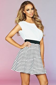We ❤ stripes and this nautical skater dress by Lauren Pope is top of our wish list