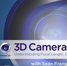 Motion design tutorial: Dive Deeper Into The 3D Camera Properties Of Cinema 4D - Motionanddesign.net