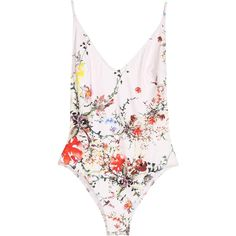 Swimsuit ($36) ❤ liked on Polyvore featuring swimwear, one-piece swimsuits, swimming costume, one piece swimsuits, low back swimsuit, low back one piece swimsuit and swimsuit swimwear