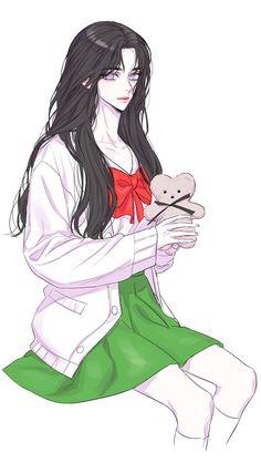 Manga Girl, Chica Anime Manga, Anime Art Girl, Pretty Anime Girl, Beautiful Anime Girl, Anime Love, Anime Devil, Anime Angel, Character Inspiration