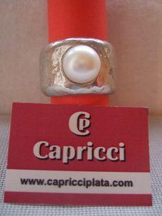 Anillo de plata 925m. www.capricciplata.com http://www.facebook.com/capricci.plata1 .