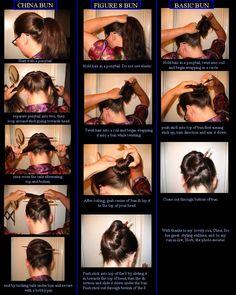 how to use hair chopsticks!