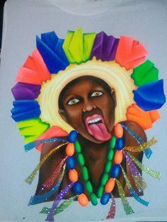 Photo Booth, Behance, Facebook, Halloween, Painting, Tejido, Girls, Glass Art, Make Up
