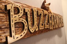 Handmade Wood Signs Wooden Signs Business Signs by LazyRiverStudio, $500.00