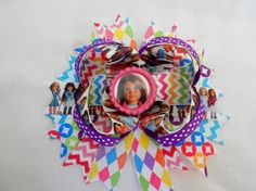 American Girl doll boutique hair bow chose by AllThingsGirlyBows, $8.00