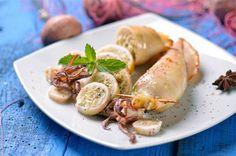 squid salad image ideal for seafood restaurant menu card design www.brochure-designers.co.uk #squid #seafood #seafoodrestaurant