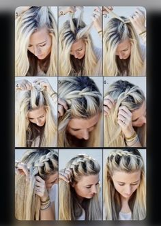 Source: Pinterest | #hairstyles #braids #braidedhairstyles #braidstyles #braidedhair #indianwedding #bridetobe #hair #fashion #diy #fashion #trending No Heat Hairstyles, Diy Hairstyles, Hairstyle Tutorials, Braid Tutorials, Beauty Tutorials, Hairstyles Videos, Wedding Hairstyles, Updo Hairstyle, Gorgeous Hairstyles