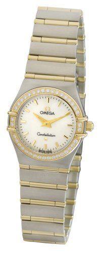 Omega Women's 1277.70.00 Constellation Quartz Small Diamond Bezel Watch