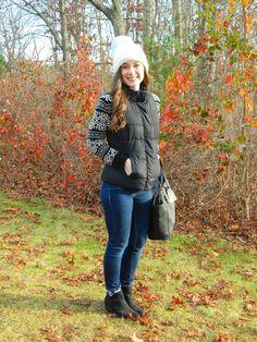 Vests And Favorite Winter Hat