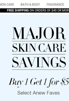 Check out this great offer. Go to: www.youravon.com/rwhittin
