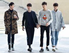Jo MinHo, Jang Ki Yong, Byeon Woo Seok, Lee Cheol Woo at SFW SS16 shot by Choi Seung Jeom