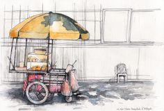 Artwork by Xuan Loc Xuan, a freelance illustrator based in Ho Chi Minh City, Vietnam. http://thefloatingmagazine.com/people-xuan-loc-xuan/ #art #illustration