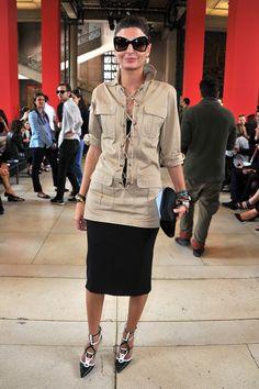 Moda com Café: Looks e estilo de Giovanna Battaglia