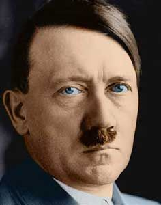 A black and white picture of Hitler that I turned into color. Anastasia, Ww1 Tanks, Colorized Photos, The Third Reich, Rare Pictures, History Photos, German Army, Black And White Pictures, Personal Photo