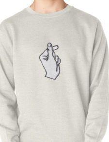 Korean Finger Heart Pullover