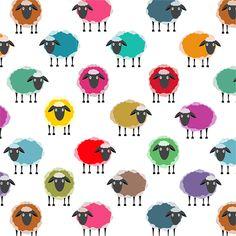 Sheep and Yarn on Behance