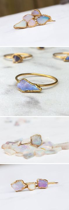 The kind of rings that make you wish you had more fingers.