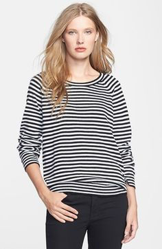 Stripes and cashmere!! Half off during the Nordstrom half yearly.