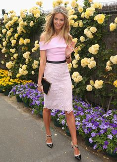 Jennifer Hawkins Photos: Celebs Go to the Races in Melbourne