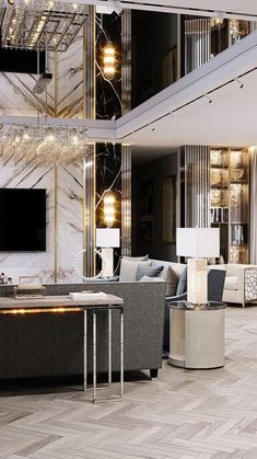 Luxury Dining Room, Luxury Living, Home Interior Design, Interior Architecture, Living Room Essentials, Luxury Estate, Living Room Remodel, Luxury Decor, Living Room Designs