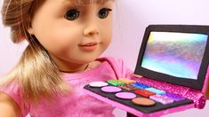 DIY How to make American Girl Doll Makeup