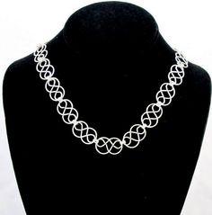 Celtic Knot Necklace by byBrendaElaine on Etsy, $34.00