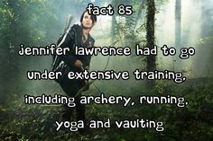 hunger games facts~ haha yoga sry I just think thats funny for some strange reason:)