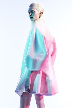 Love this pastel, illumining kind of fabric. The way light bounces off and the different colors it produces