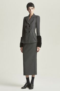 Emporio Armani Pre-Fall 2014 like the long lines and proportions