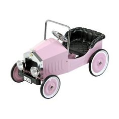 It may have been called a ''flivver'' at one time, but names don't matter when anyone can recognize the classic automotive style in the Dexton Voiture Classic Pedal Car Riding Toy - Pink. $299.99