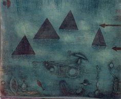 Paul Klee - Water Pyramids (1924)