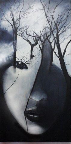 Tree of Life I Acryl auf Leinwand 100 x 200 cm Bildinspiration Antonio Mora