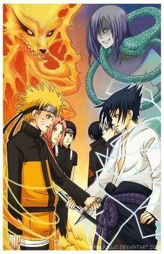 Naruto vs. Sasuke Pictures, Images and Photos