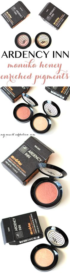 Ardency Inn Manuka Honey Enriched Pigments in Rose Gold and Sunday