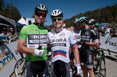 The Sagan brothers Peter and Juraj pose for a photo (Tour of California 2017)