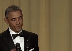 Yes, that really happened. | Here's The Most Iconic Moment In Barack Obama's Entire Presidency