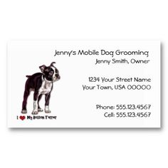 16 best dog grooming business cards images on pinterest dog dog grooming business card colourmoves
