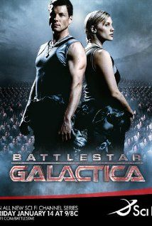 Battlestar Galactica (TV Series 2004–2009)  It ---------------------was awesome.....