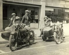 Another shot of my Grandmother on a Vintage Harley, that wasn't vintage at the time!  Vintage Moto Photos from Life Magazine   Demenshea's Ride Like a Girl