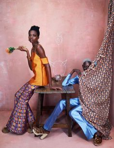 Models.com Taps Maria Borges and Ajak Deng for Africa Rising Photo Shoot | The Fashion Bomb Blog | Bloglovin'