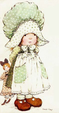quenalbertini: Sweet by Sarah Kay Sarah Key, Holly Hobbie, Sara Key Imagenes, Vintage Pictures, Cute Pictures, Decoupage, Illustrations Vintage, Hobby Horse, Fun Hobbies
