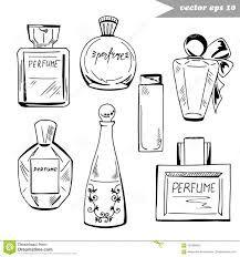 Resultado De Imagem Para Desenho De Vidro De Perfume Para Colorir
