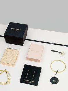 Bing Bang Jewelry Branding & Packaging on Pantone Canvas Gallery