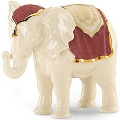 First Blessing Nativity Elephant Figurine by Lenox