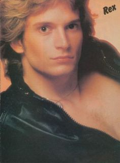 Rex Smith born Sept. 19, 1955. Has been onstage in rock bands , television , broadway and film since he was 15 years old.